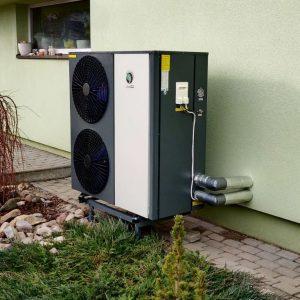 20 kW galios monoblokas inverteris šilumos siurblys ECOENERGIJA