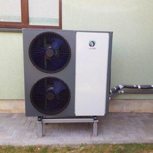 22 kW galios monoblokas inverteris šilumos siurblys oras vanduo