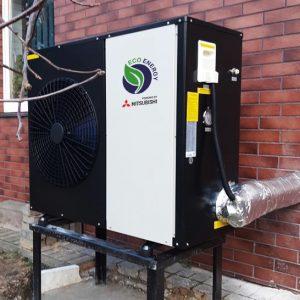 Monoblokas inverteris 10 kW - Oras vanduo šilumos siurblys